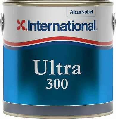 International Ultra 300 Antifouling 2,5Lt Marine Blue YBB724 #458COL641 Nautilin