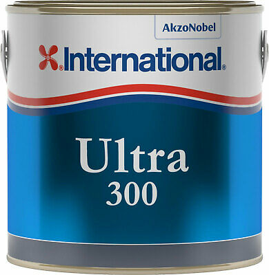 International Ultra 300 Antifouling 2.5Lt Blue-Blau-Bleu Hard matrix #458COL643