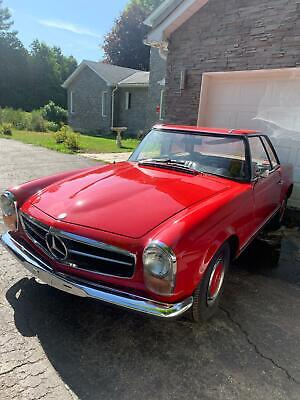 Mercedes-Benz 1965 230 SL, very nice car ready to be enjoyed, long term owner!