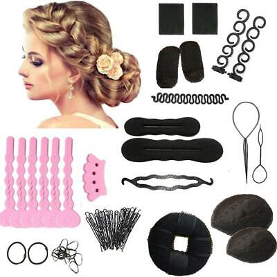 1 Set Haarstyling-Zubehör Tools Kit Hair Makeup Tool Kits Hair Braid  YBT ec