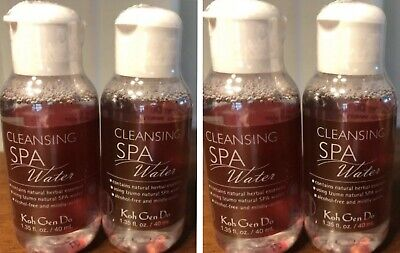 KOH GEN DO CLEANSING SPA WATER LOT 4 X 40ml /1.35 OZ DELUXE SAMPLE SEALED ipsy