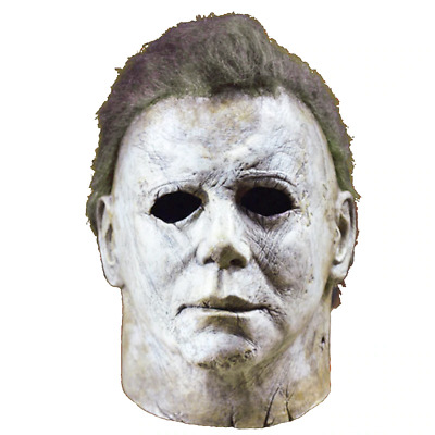 Deluxe Michael Myers Mask Halloween II Latex Full Head Adult Size Fancy Funny