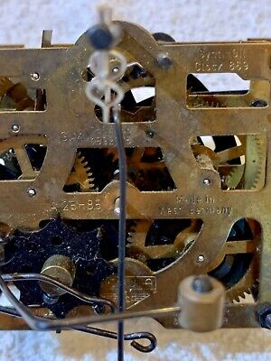 Regula German Bachmaier & Klemmer 1-day Cuckoo Clock Movement #A-25-85- Used