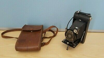 Antique 1920s Folding Pocket Film Camera by Eastman Kodak Co Made In USA VGC
