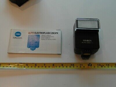 Minolta Electroflash 280PX with original instructions