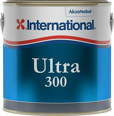 International Ultra 300 Antifouling Lt 2,5 Dover White YBB728 #458COL640 Nautili