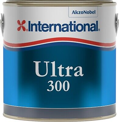 International Ultra 300 Antifouling Lt 2,5 Black YBB723 #458COL645 Nautiline 458