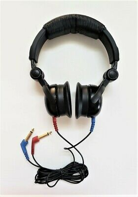 Headphones  For Audiometer With Telephonics Tdh 39  And Cables