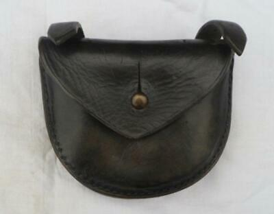 A late Victorian or Edwardian pistol ammo pouch