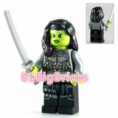 01 Big Bricks Custom Moondragon Minifigs Mini figure Blocks Blocks 741