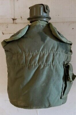 1 Quart Canteen OD Cover Pouch ALICE Clips Green Mask NBC Top LC-1 2