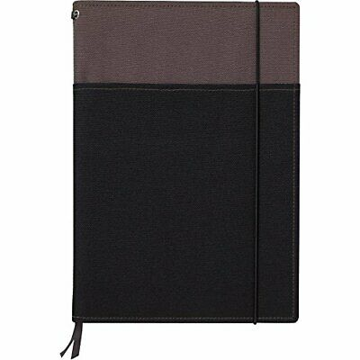 Kokuyo notebook cover systemic B5 gray / black A ruled 40 sheets Roh -653A-1