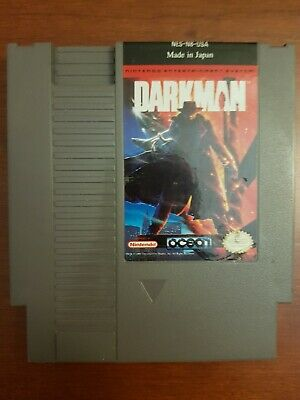 Darkman (Nintendo Entertainment System, 1991) NES Authentic Good