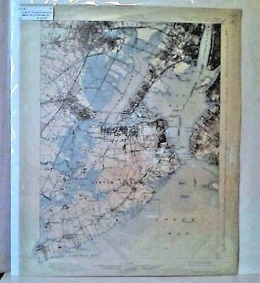 USGS 15' Topographic Map Staten Island NY, NJ  - Feb. 1900 edition
