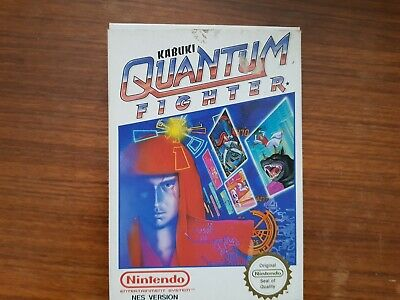 Kabuki Quantum Fighter NES  (Nintendo Entertainment System)  PAL WORKING