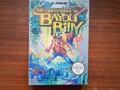 The Adventures Of Bayou Billy - Nintendo Entertainment System NES - PAL Working