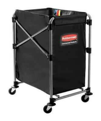 RUBBERMAID 1881749 Collapsible Basket X-Cart,4 bu. Cap.