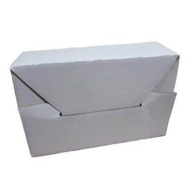 1 6x4x2 White Cardboard Packing Mailing Shipping Boxes Corrugated Box Cartons