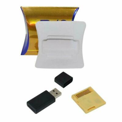 2019 R4i SDHC Gold Pro with USB Adapter + 16GB for DS, DSI, 2DS, 3DS, Ndsi, Ndsl