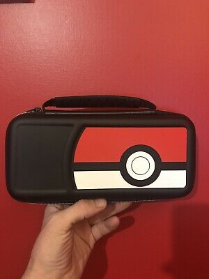 Nintendo 2DS XL 3DS DS Official Black Pokemon Pokeball Carry Carrying Case