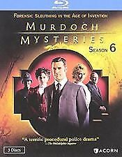 Murdoch Mysteries Season 6*New & Sealed*Blu Ray