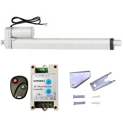 """Multi-function 16"""" Linear Actuator W/ Wireless Motor Controller for TV Lifts SJ"""