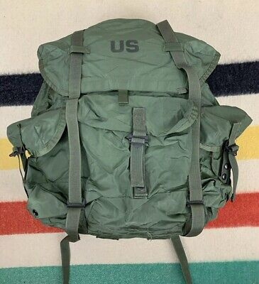 US Military LC-1 Large Metal Frame Alice Backpack Rucksack Army USMC