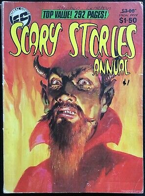 SCARY STORIES ANNUAL - 1980, B&W Magazine, 292 pages, 1980, Australia
