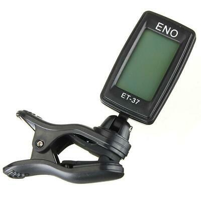 Digital Chromatic LCD Clip On Electric Tuner For Guitar Ukulele Violin Oud GL