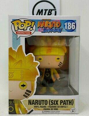 FUNKO POP NARUTO SHIPPUDEN SIX PATH 186 GITD HOT TOPIC EXCLUSIVE sasuke kakashi