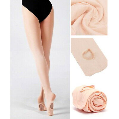 Footed Shimmer Tights Tight Dance Stockings Ballet Jazz Tap for Child to Adult