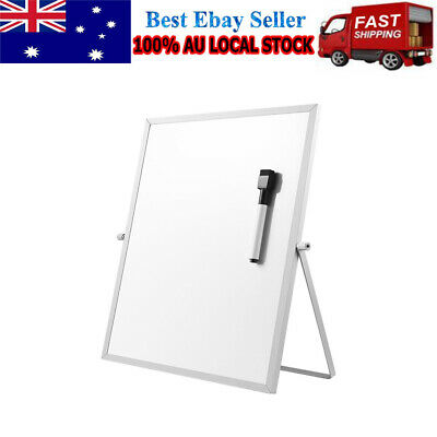 1PC Magnetic Dry Erase Board Double Sided with Stand Useful White Board for Home