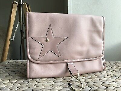 Therapy London pink travel toiletry bag make up purse