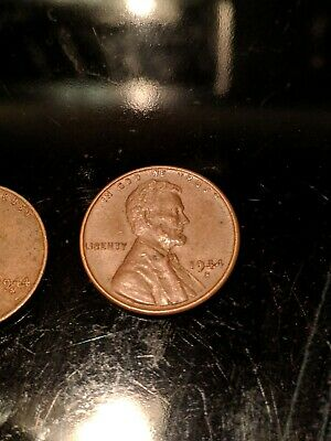 1944-S Lincoln Wheat Shell Casings penny, WWII GOOD CONDITION, HARD MINT TO FIND