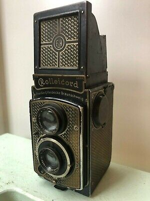 Rolleicord Art Deco Gold edition