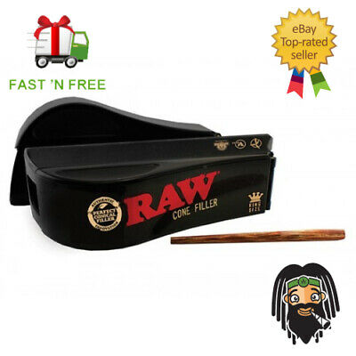 Raw Natural Rolling Papers King Size Cone Rolling Shooter - Filler Machine
