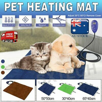 Waterproof Pet Electric Heat Heating Heated Dog Cat Mat Pad Thermal Protection