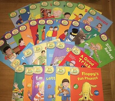 Read with Biff, Chip and Kipper Collection: Levels 1-3 - 33 Books RRP £163.67