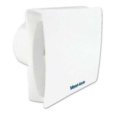 Vent-Axia VASF100T 100 mm Dual Speed Silent Extractor Fan With Timer 446659