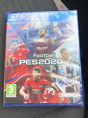 eFootball PES 2020 (PS4) PRE-ORDER - RELEASED 10/09/2019 - BRAND NEW AND SEALED