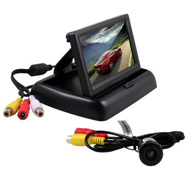 BW® 4.3 Inch Folding TFT LCD Rearview Color Camera Monitor And Car Rear View