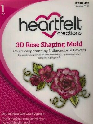 Heartfelt Creations - 3D Rose Shaping Mold - HCFBI - 462