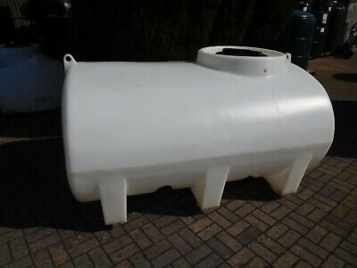 1200 Litre New Transportable Horizontal Bowser Water Tank Sprayer Old Stock