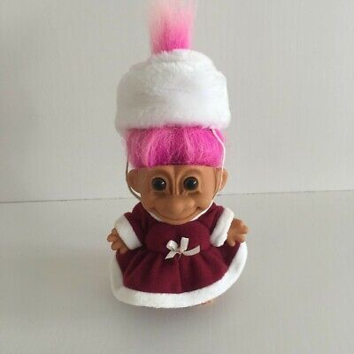 Vintage Russ Russian Around The World Troll Doll Collectable 90's Toy