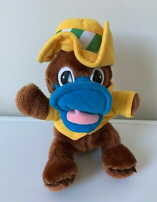 World Expo 88 official mascot OZ platypus 23cm plush toy