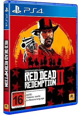 Red Dead Redemption 2  Ps4 ( No - Cd ) Castellano - Ingles [ Secundaria ]