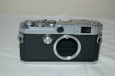 Canon-L2 Vintage 1956 Japanese Rangefinder Camera. Service. No.519391. UK Sale