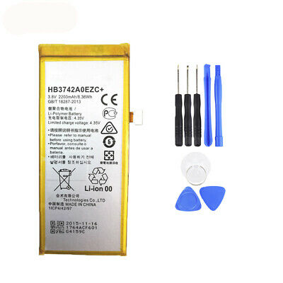 HB3742A0EZC Replacement 2200mAh Li-ion Phone Battery for Huawei Ascend P8 Lite