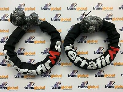 11mm Synthetic Soft Off Road Recovery Shackle 9000Kg Load x2 Terrafirma TF3310