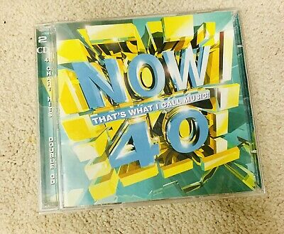 Various Artists : Now Thats What I Call Music! 40  Double CD